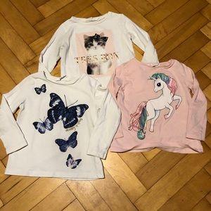 Bundle of 3 H&M Long Sleeve Shirts